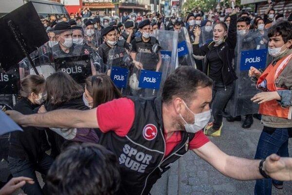 اعتراضات علیه نژادپرستی در آمریکا به ترکیه رسید