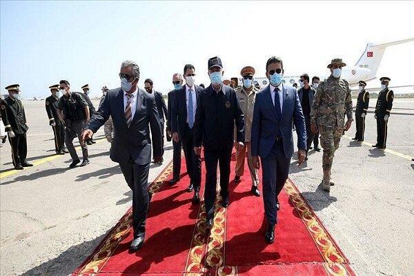 وزیر دفاع و رئیس ستادکل ارتش ترکیه به لیبی سفر کردند