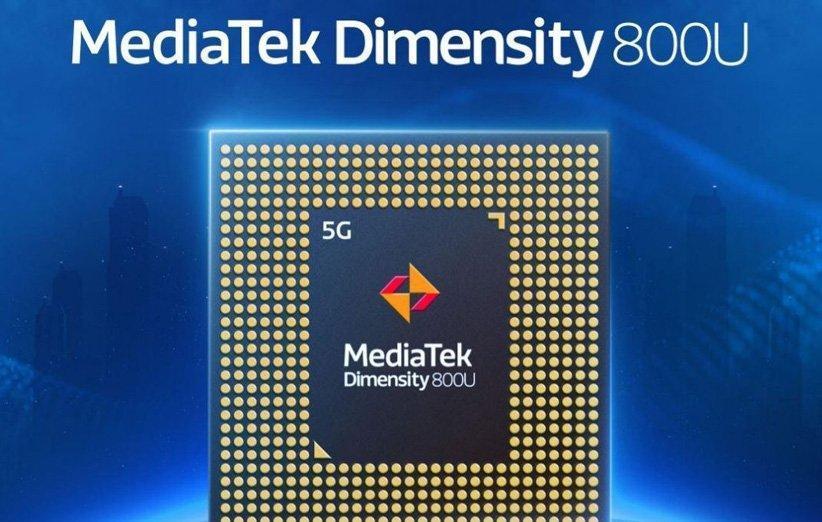 مدیاتک از Dimensity 800U رونمایی کرد؛ یک تراشه 5G میان رده