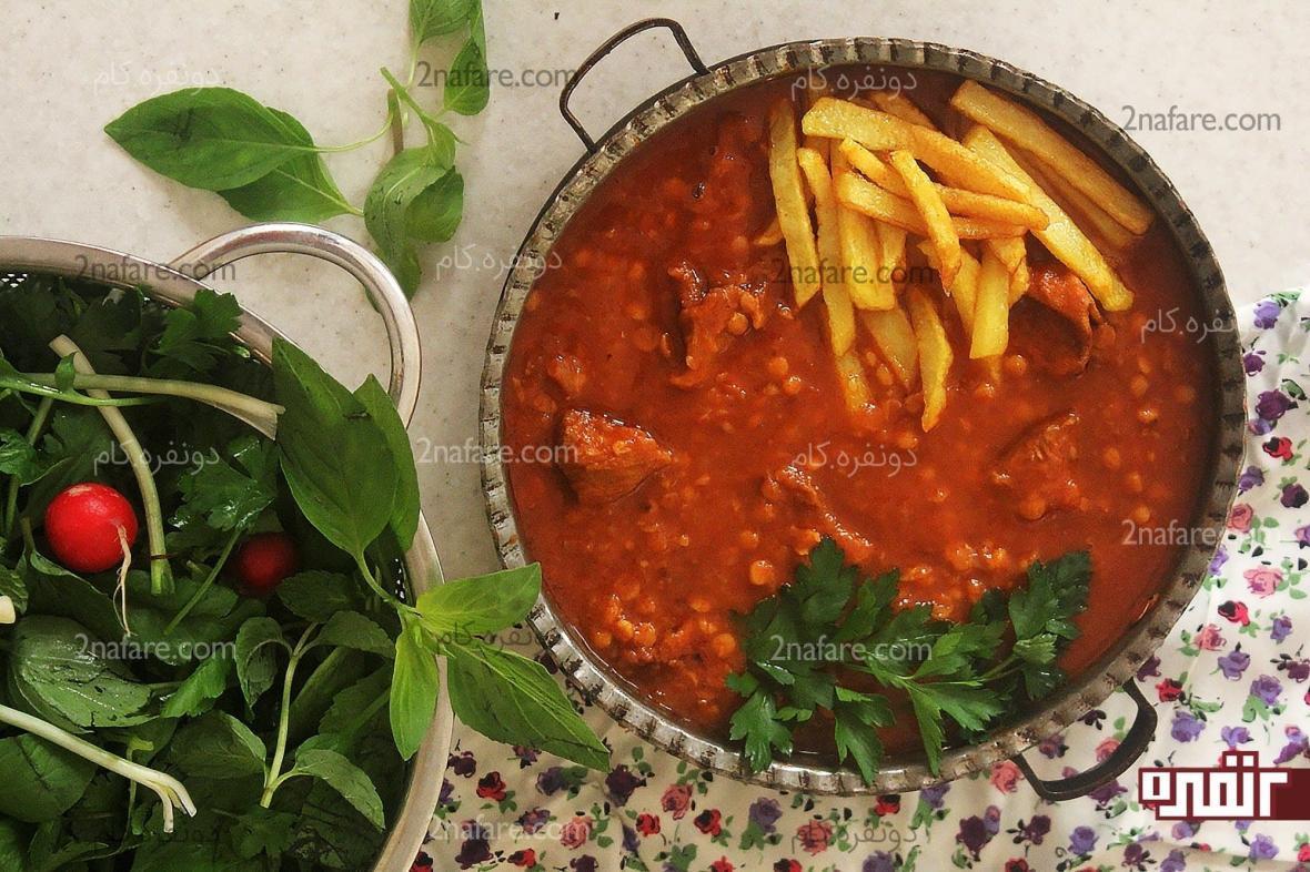 طرز تهیه قیمه خوشمزه غذایی کاملا ایرانی