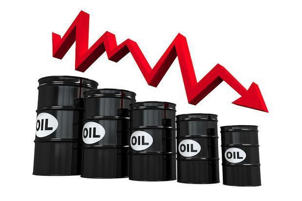 کاهش شدید قیمت نفت