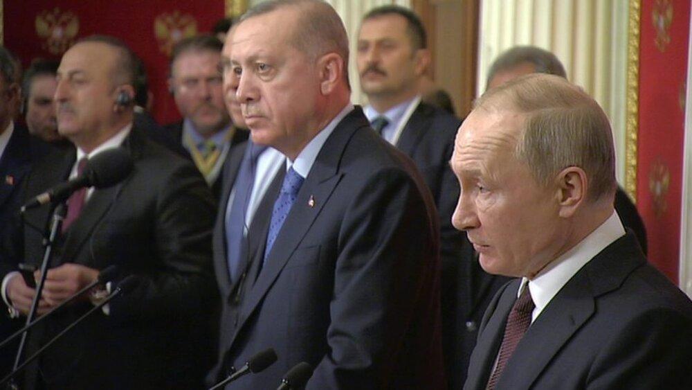 رایزنی اردوغان و پوتین درباره آخرین تحولات قره باغ