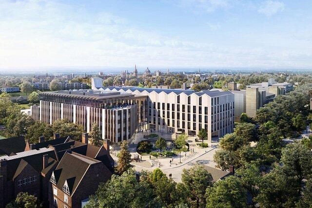 سرمایه گذاری برای ساخت بزرگترین پروژه ساختمانی دانشگاه آکسفورد