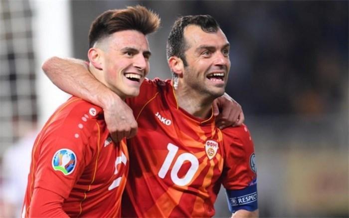 انتخابی یورو 2020؛ مقدونیه برنده نبرد تاریخ سازی شد