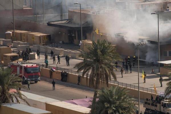 حملات به منطقه سبز بغداد؛ سناریوی آمریکا برای ضربه بهحشد شعبی