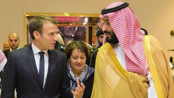 خبرنگاران رییس جمهوری فرانسه با ولیعهد سعودی تلفنی گفت وگو کرد