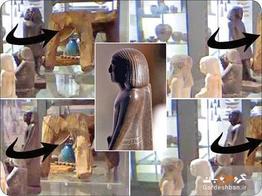راز مجسمه ای مومیایی که به دور خود می چرخد!