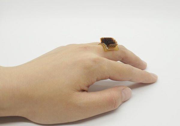 انگشتر هوشمندی که با گرمای بدن کار می نماید