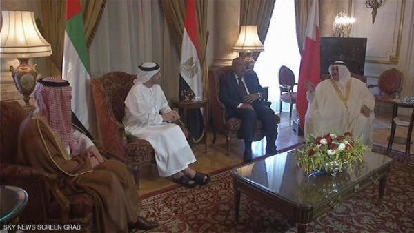 کوشش کویت برای برگزاری نشست سه جانبه میان قطر، امارات و مصر