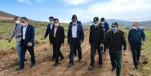 خبرنگاران راه اصلی هشجین به اردبیل و سرچم هفته دولت سال جاری بهره برداری می گردد