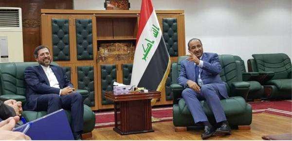 ملاقات خطیب زاده با وزیر فرهنگ عراق