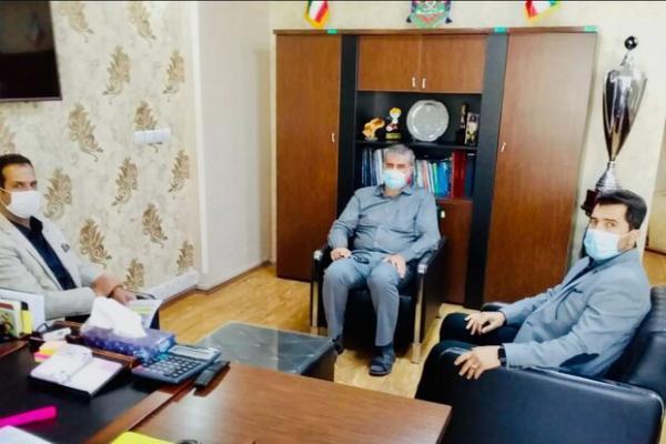 نشست سرپرست دبیری فدراسیون با رئیس کمیته و سرمربی تیم ملی فوتسال