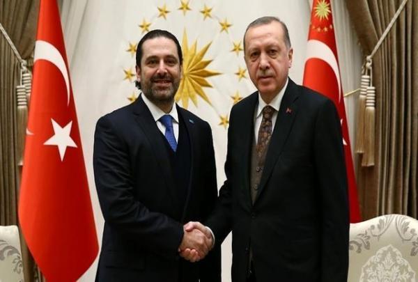 ملاقات سعد حریری با اردوغان پشت درهای بسته
