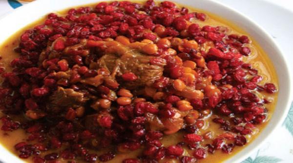 طرز تهیه خورشت زرشک کردی؛ غذای محلی و خوشمزه