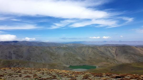 دریاچه چشمه سبز گلمکان؛ افسونگری های پهنه ای آبی