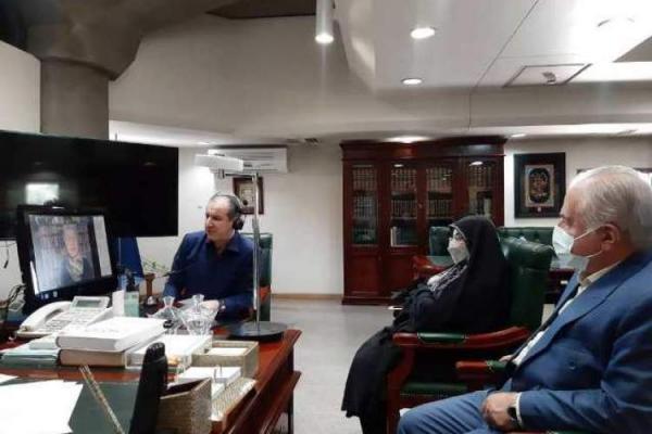 نشست مجازی روسای کتابخانه های ملی برگزار گردید