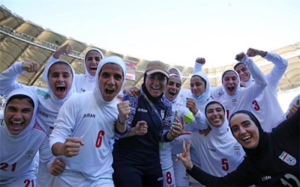 شاهکار دختران فوتبالیست ایران؛ به جمع غول های آسیایی خوش آمدی